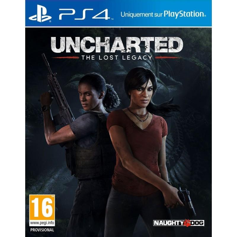 PS4 UNCHARTED LOST LEGACY OCC - Jeux PS4 au prix de 14,95€