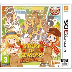 3DS STORY OF SEASONS TRIO OF TOWNS - Jeux 3DS au prix de 17,95 €