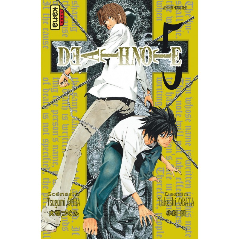 DEATH NOTE 05 - Manga au prix de 6,85€