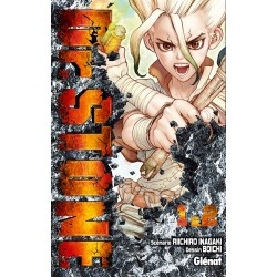 DR STONE T01 T02 - Manga au prix de 13,80€