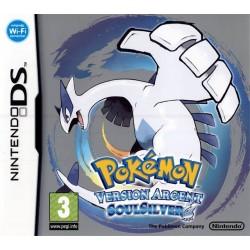 DS POKEMON VERSION ARGENT - Jeux DS au prix de 24,95€