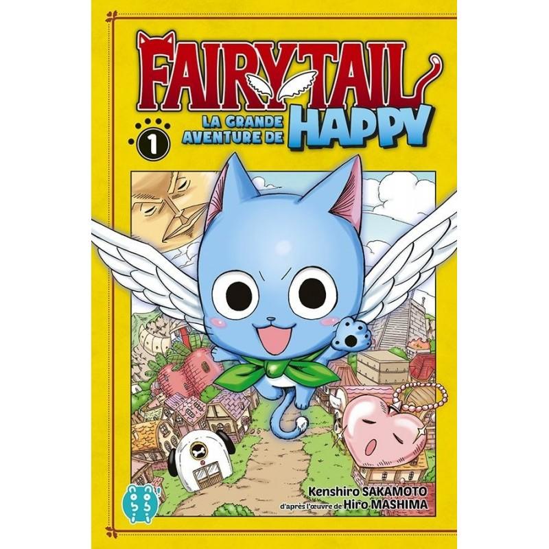 FAIRY TAIL LA GRANDE AVENTURE DE HAPPY T01 - Manga au prix de 6,95€
