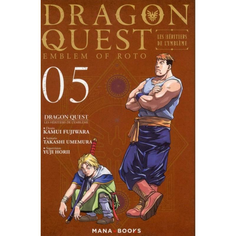 DRAGON QUEST LES HERITIERS DE L EMBLEME T05 - Manga au prix de 6,90€