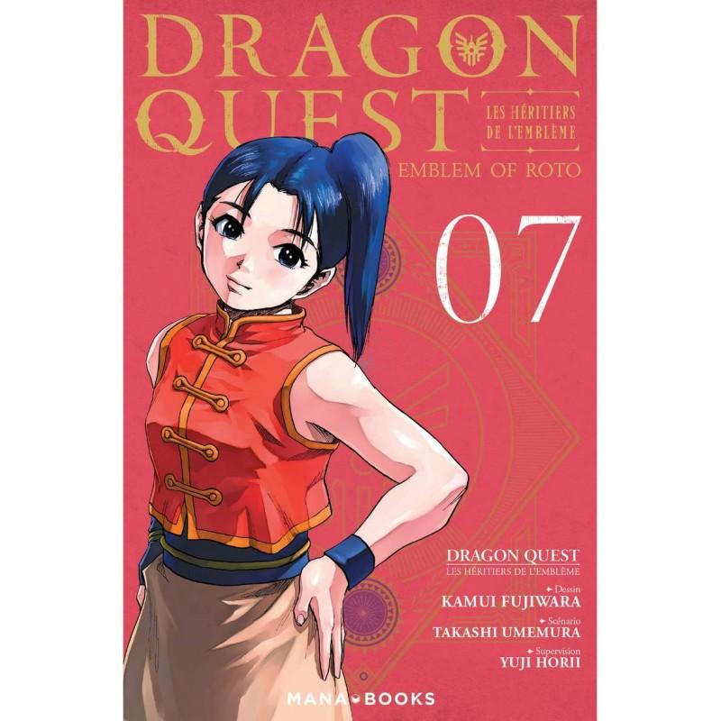 DRAGON QUEST LES HERITIERS DE L EMBLEME T07 - Manga au prix de 6,90€