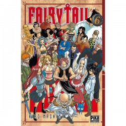 FAIRY TAIL T06 - Manga au prix de 6,95€