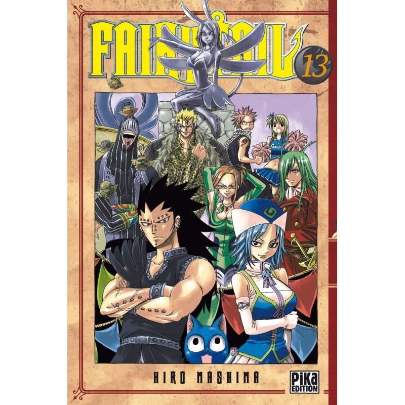FAIRY TAIL T13 - Manga au prix de 6,95€