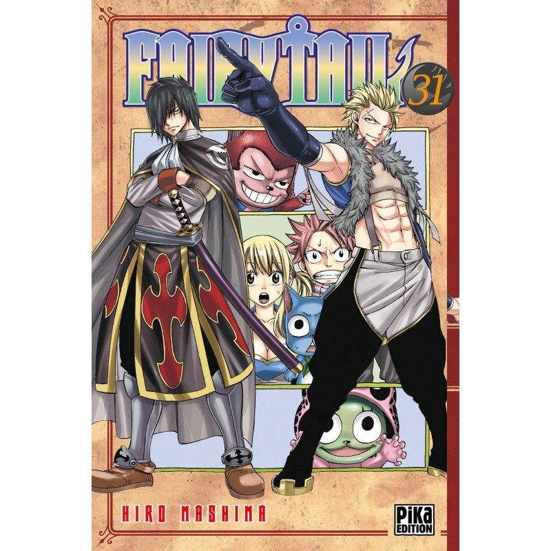 FAIRY TAIL T31 - Manga au prix de 6,95€