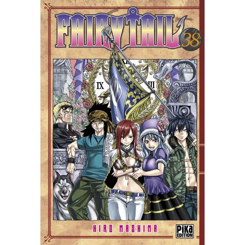 FAIRY TAIL T38 - Manga au prix de 6,95€