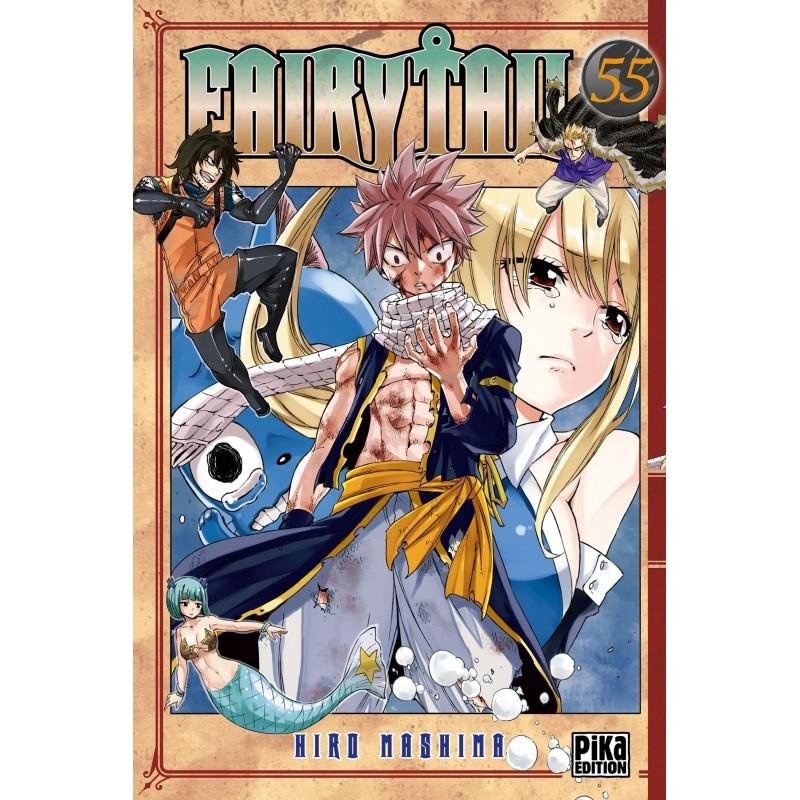 FAIRY TAIL T55 - Manga au prix de 6,95€