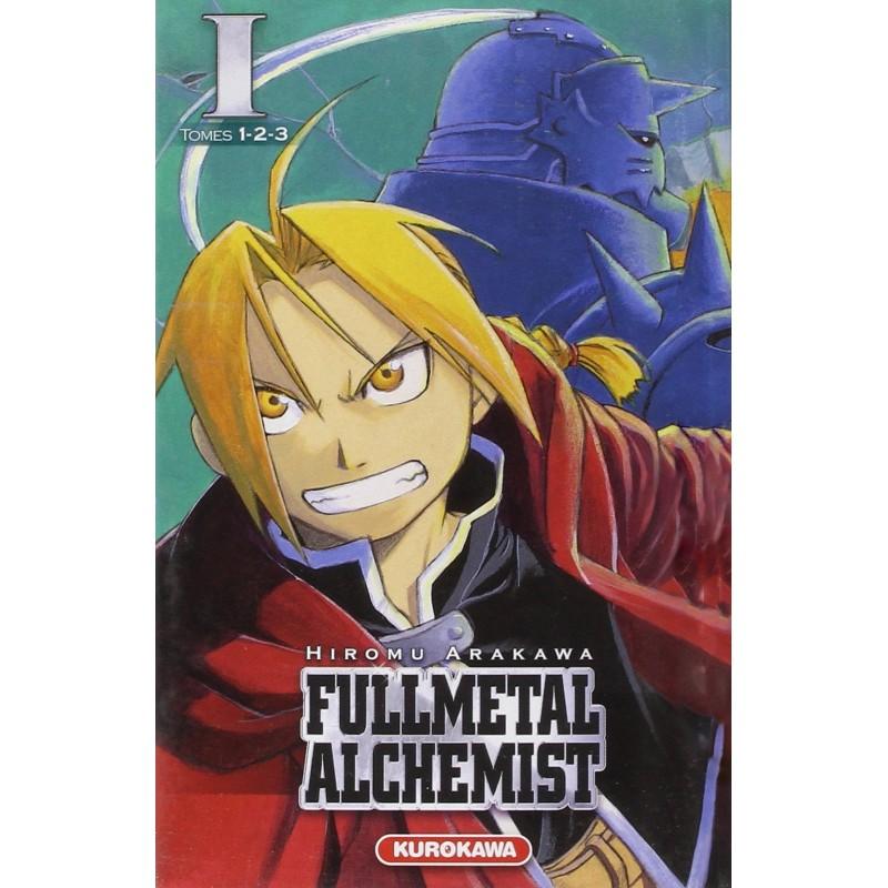 FULLMETAL ACHEMIST T01 A T03 - Manga au prix de 12,90€