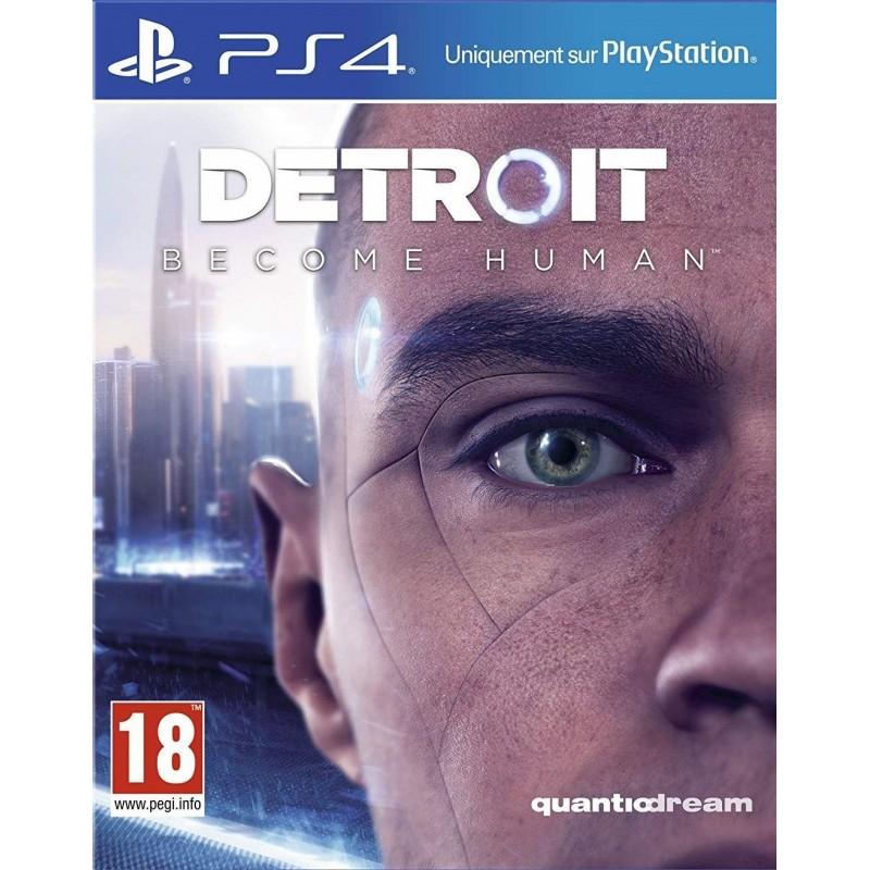 PS4 DETROIT BECOME HUMAN - Jeux PS4 au prix de 34,95€