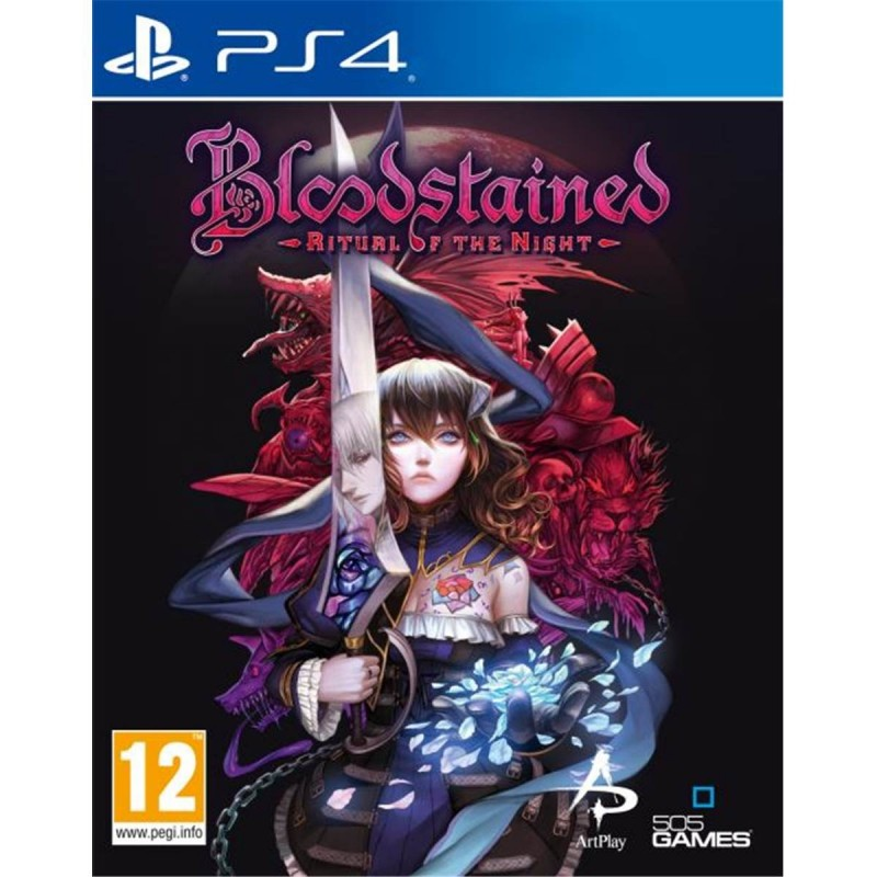 PS4 BLOODSTAINED RITUAL OF THE NIGHT - Jeux PS4 au prix de 19,99€