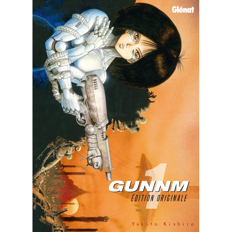 GUNNM T01 - Manga au prix de 7,60€