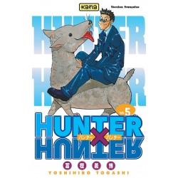 HUNTER X HUNTER T05 - Manga au prix de 6,85€