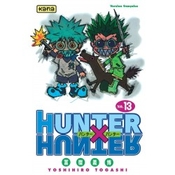HUNTER X HUNTER T13 - Manga au prix de 6,85€