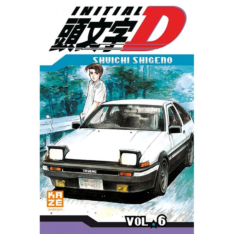 INITIAL D T06 - Manga au prix de 6,89€