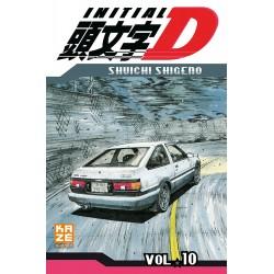 INITIAL D T10 - Manga au prix de 6,89€