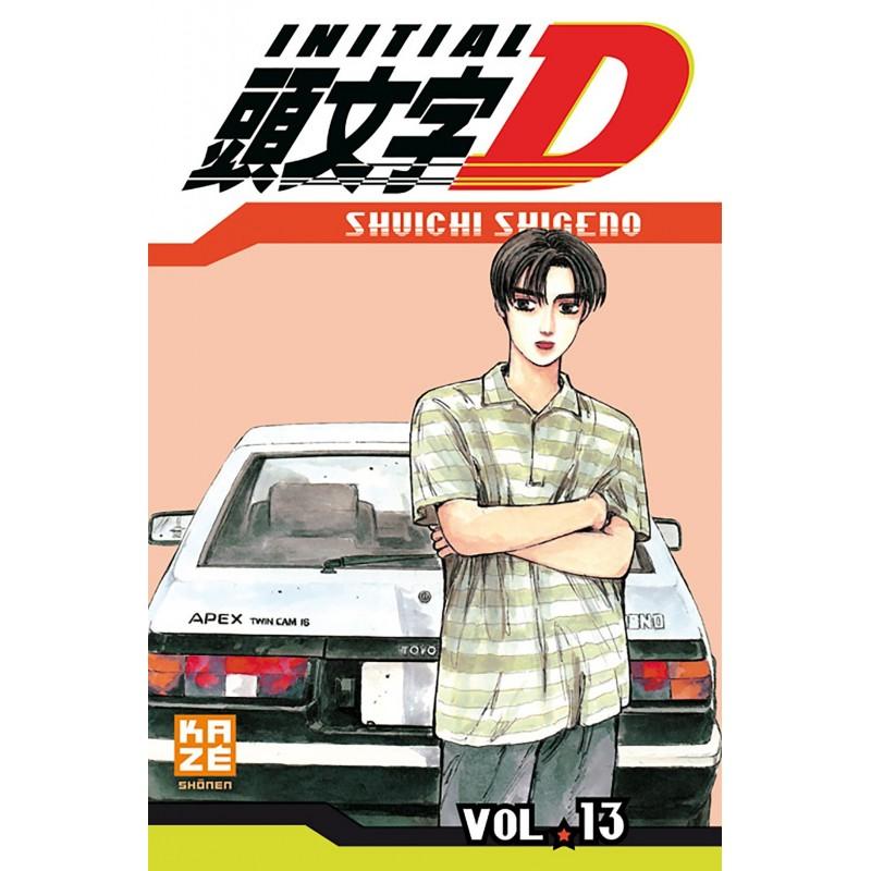 INITIAL D T13 - Manga au prix de 6,89€