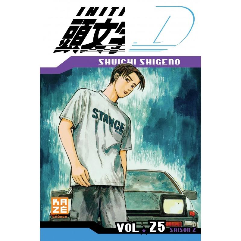 INITIAL D T25 - Manga au prix de 6,89€
