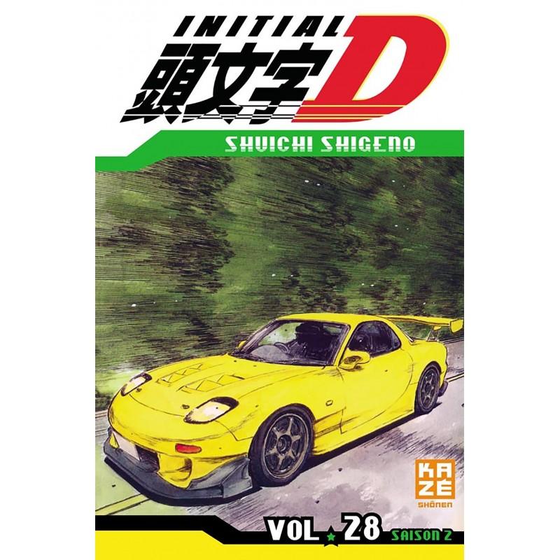 INITIAL D T28 - Manga au prix de 6,89€