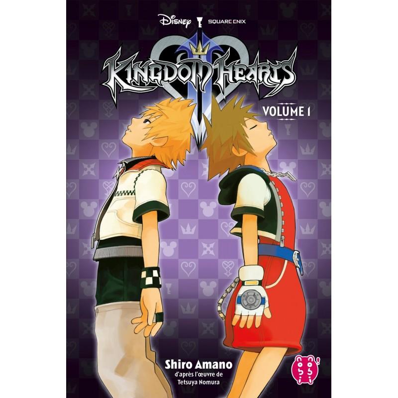 KINGDOM HEARTS II VOL 1 L INTEGRALE T5 - Manga au prix de 10,90€