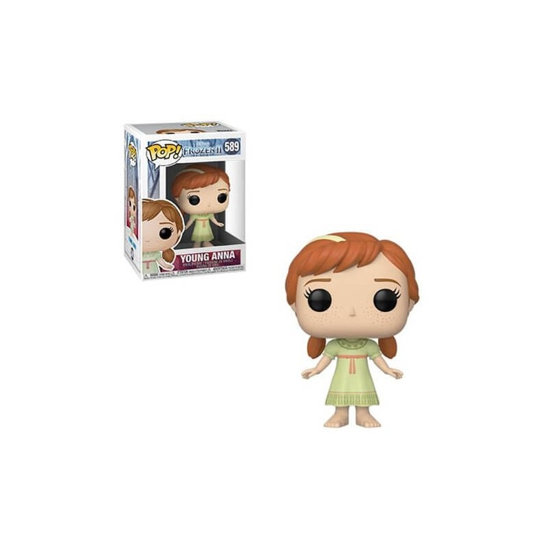 POP DISNEY REINE DES NEIGES 589 YOUNG ANNA - Figurines POP au prix de 14,95 €