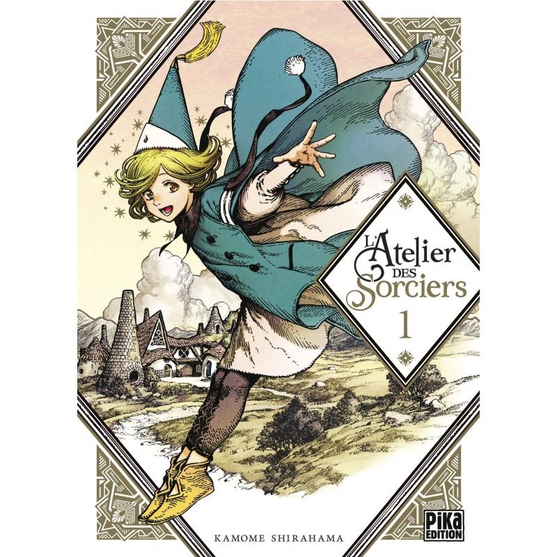 L ATELIER DES SORCIERS T01 - Manga au prix de 7,50€