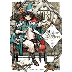 L ATELIER DES SORCIERS T02 - Manga au prix de 7,50€