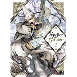 L ATELIER DES SORCIERS T03 - Manga au prix de 7,50€