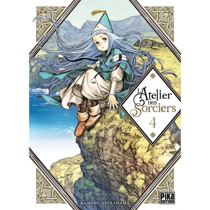 L ATELIER DES SORCIERS T04 - Manga au prix de 7,50€