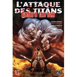 L ATTAQUE DES TITANS BEFORE THE FALL T17 - Manga au prix de 6,95 €
