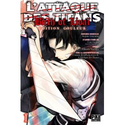 L ATTAQUE DES TITANS BIRTH OF LIVAI T01 - Manga au prix de 8,50€