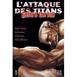 L ATTAQUE DES TITANS BEFORE THE FALL T01 - Manga au prix de 6,95 €