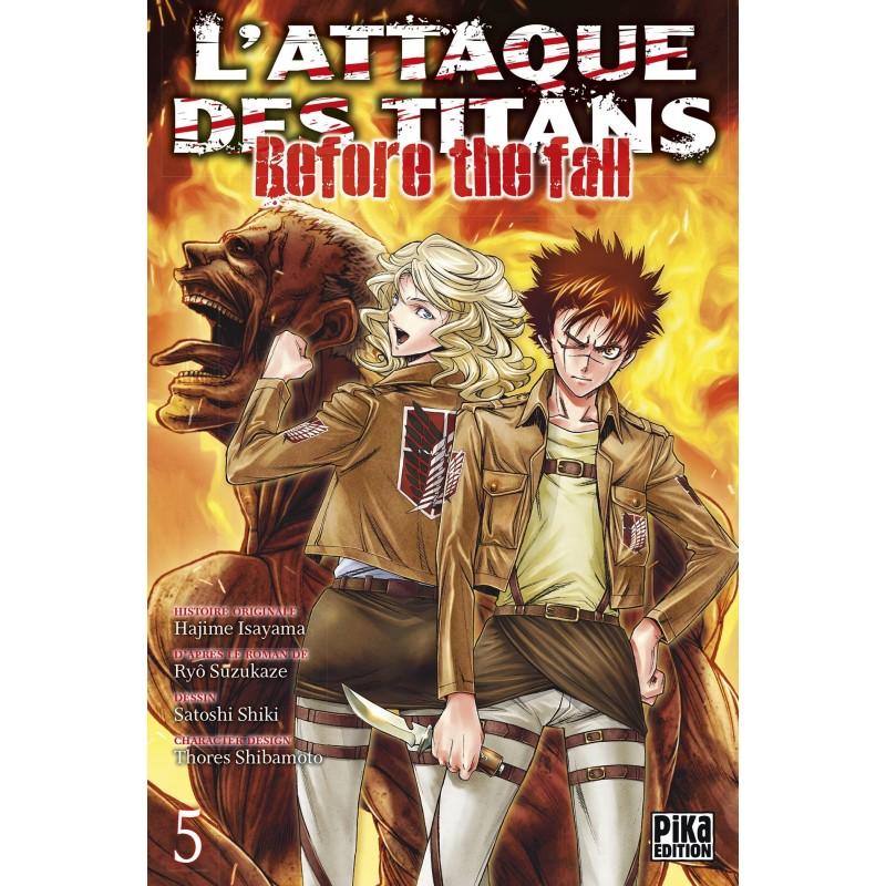 L ATTAQUE DES TITANS BEFORE THE FALL T05 - Manga au prix de 6,95€