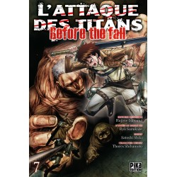 L ATTAQUE DES TITANS BEFORE THE FALL T07 - Manga au prix de 6,95 €