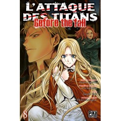 L ATTAQUE DES TITANS BEFORE THE FALL T08 - Manga au prix de 6,95 €