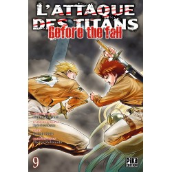 L ATTAQUE DES TITANS BEFORE THE FALL T09 - Manga au prix de 6,95 €