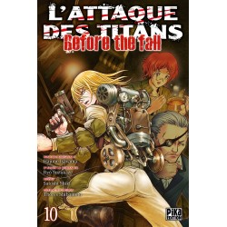 L ATTAQUE DES TITANS BEFORE THE FALL T10 - Manga au prix de 6,95 €