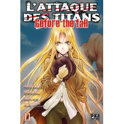 L ATTAQUE DES TITANS BEFORE THE FALL T11 - Manga au prix de 6,95 €