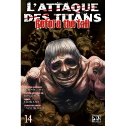 L ATTAQUE DES TITANS BEFORE THE FALL T14 - Manga au prix de 6,95 €