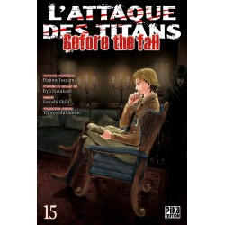 L ATTAQUE DES TITANS BEFORE THE FALL T15 - Manga au prix de 6,95 €