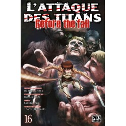 L ATTAQUE DES TITANS BEFORE THE FALL T16 - Manga au prix de 6,95 €