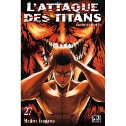 L ATTAQUE DES TITANS T27 EDITION LIMITEE - Manga au prix de 11,65€