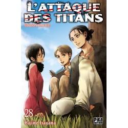L ATTAQUE DES TITANS T28 EDITION LIMITEE - Manga au prix de 10,00€