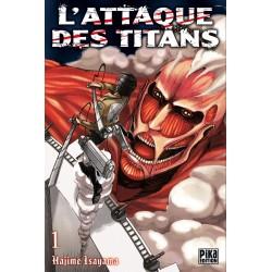 L ATTAQUE DES TITANS T01 - Manga au prix de 6,95€