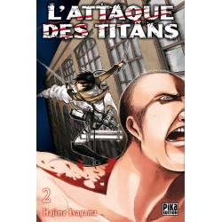 L ATTAQUE DES TITANS T02 - Manga au prix de 6,95€