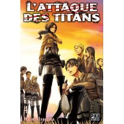 L ATTAQUE DES TITANS T04 - Manga au prix de 6,95€