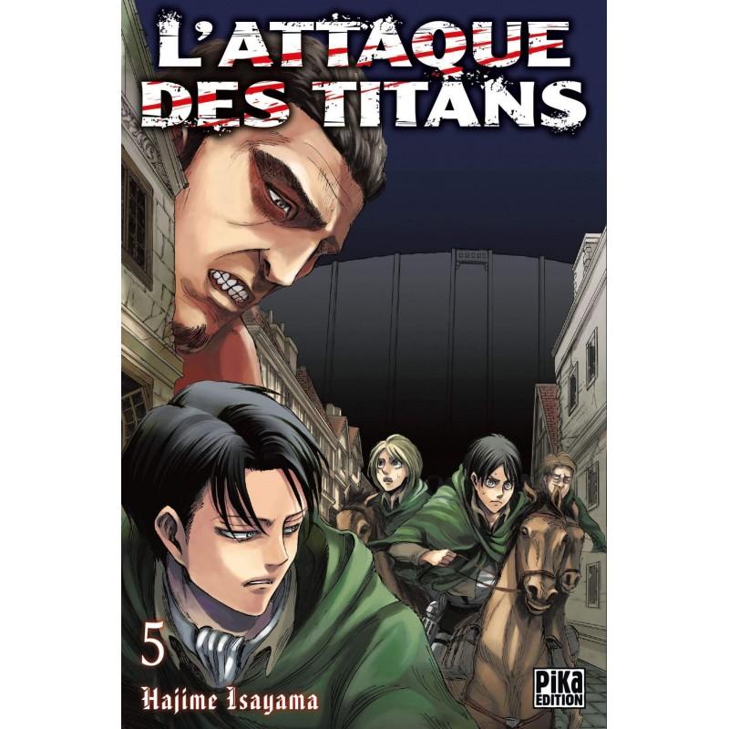 L ATTAQUE DES TITANS T05 - Manga au prix de 6,95€