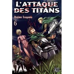 L ATTAQUE DES TITANS T06 - Manga au prix de 6,95€