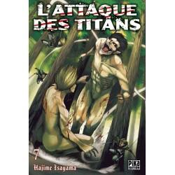L ATTAQUE DES TITANS T07 - Manga au prix de 6,95€